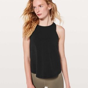 Lululemon Blissed Out Tank in Black